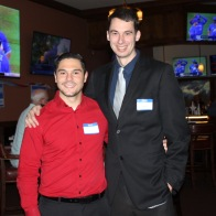 Dave with Campaign Communications Director Rick Tibbetts